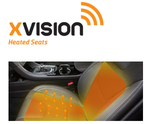 Xvision Heated Car Searts